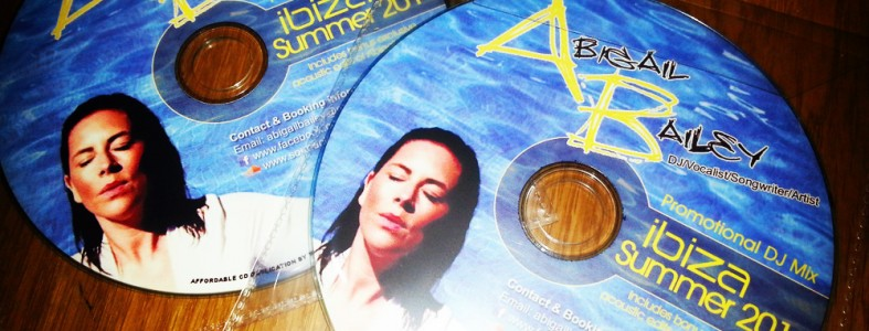 Abigail Bailey Ibiza Summer 2014 Promo CD