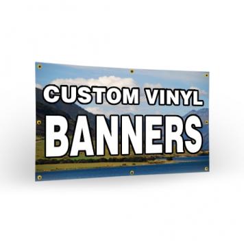 Mesh & Vinyl Banner Printing