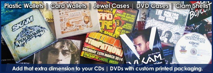CD DVD Packaging