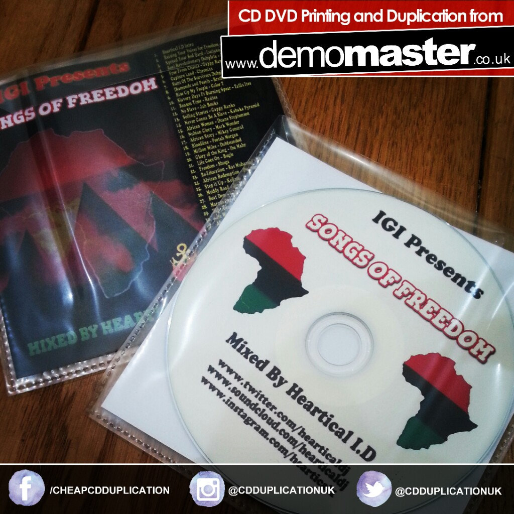 Songs of Freedom mixed by Heartical ID