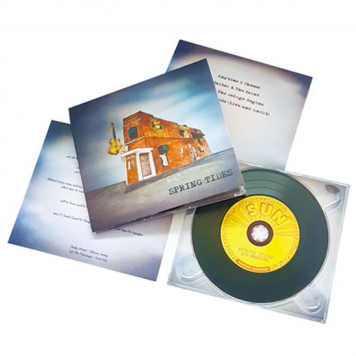 CD or DVD in custom printed Digipacks and delivery.