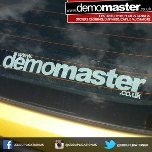 static window car sticker