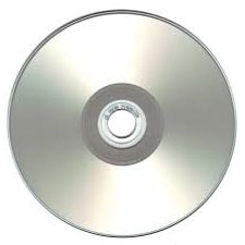 silver printable cd