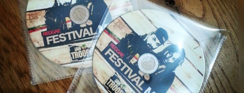 Promo CD Duplication Printing for festival merchandise