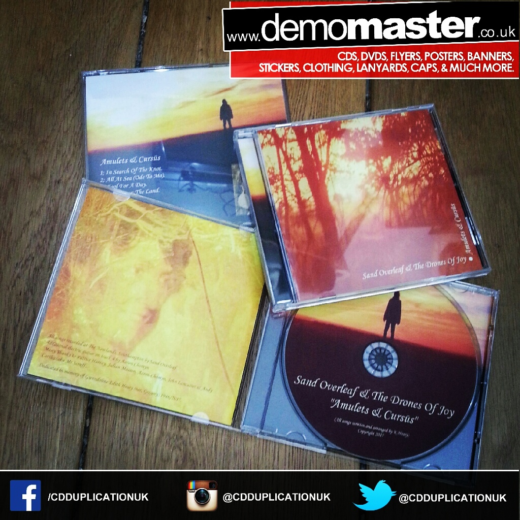 Cd duplication in custom printed jewel cases