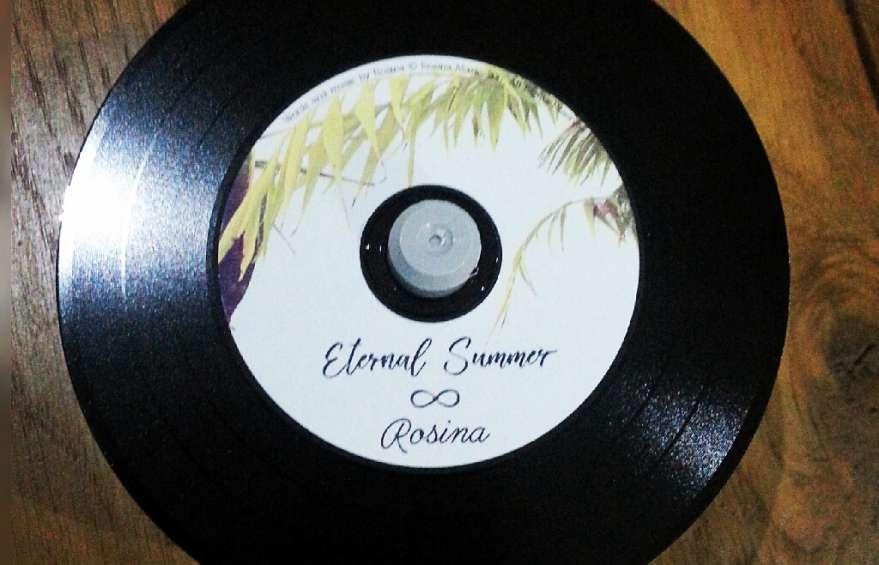 Retro look and feel Vinyl CD Duplication