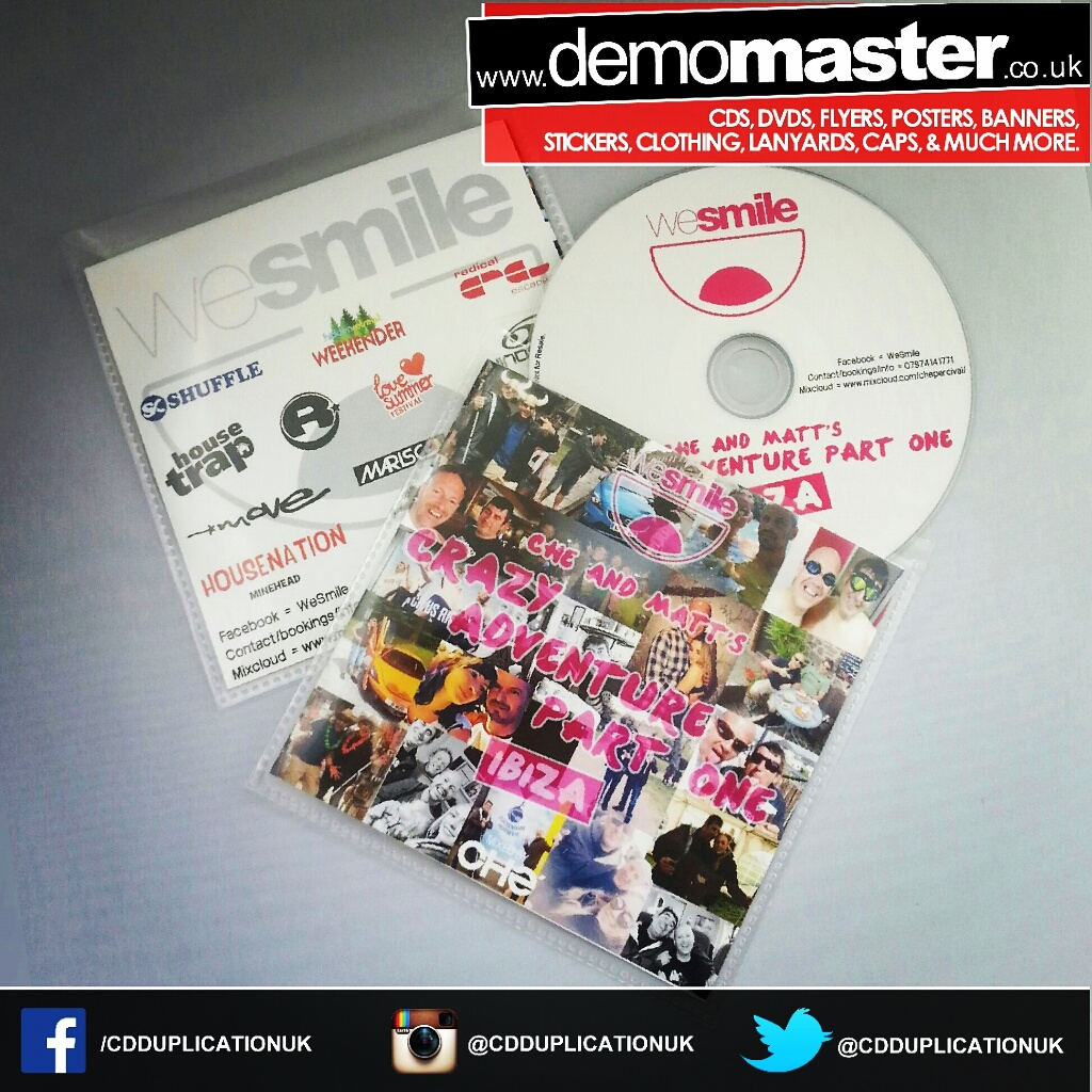 CD duplication and printing for dance music in ibiza