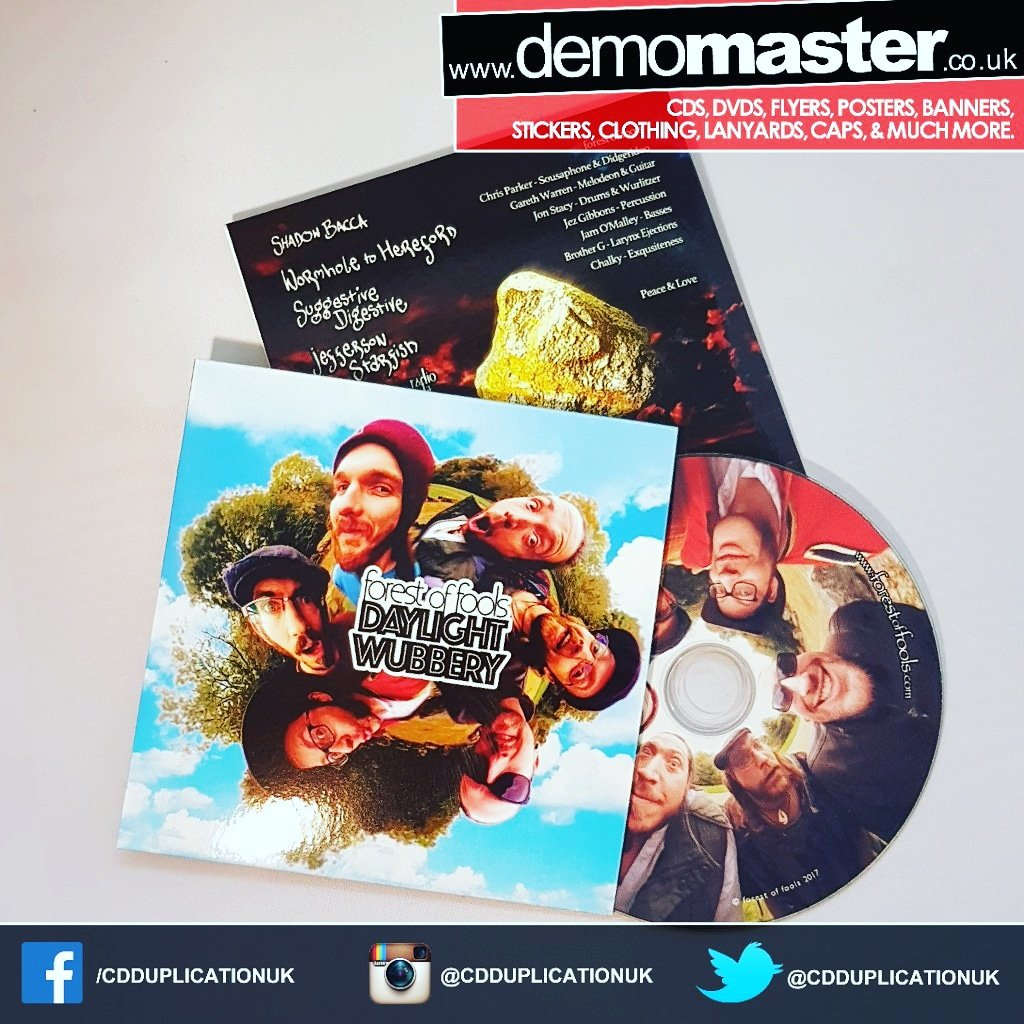 EP launch with CD Duplication and custom printed card wallets