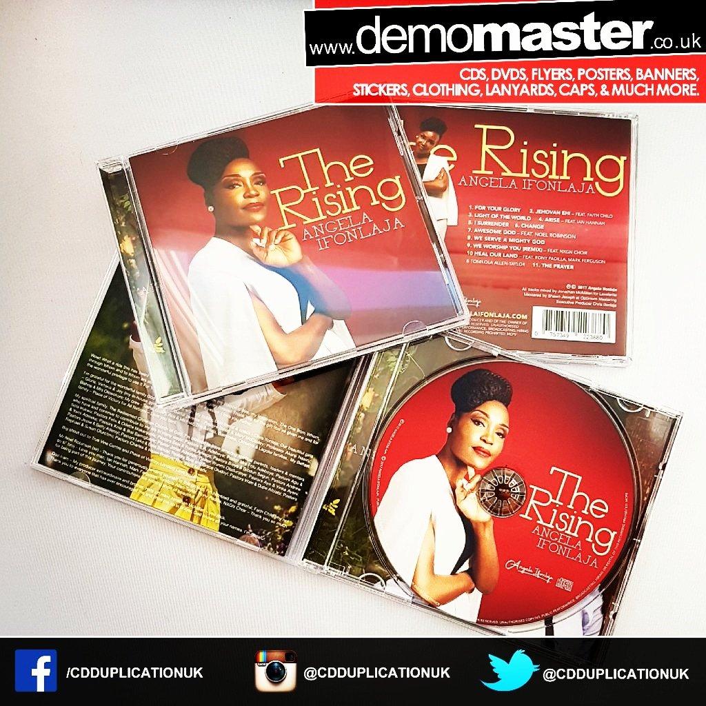 New CD printed music album fully custom print