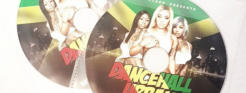 Promo DJ mix with CD Printing as a giveaway