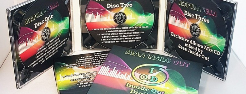 Triple CD custom printed Digipacks