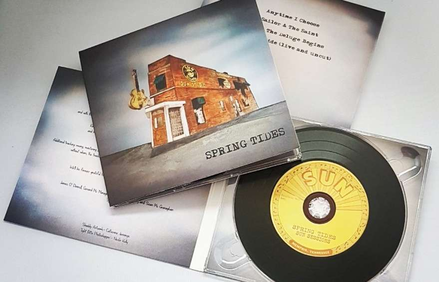 Vinyl CD Duplication to compliment custom printed Digipacks
