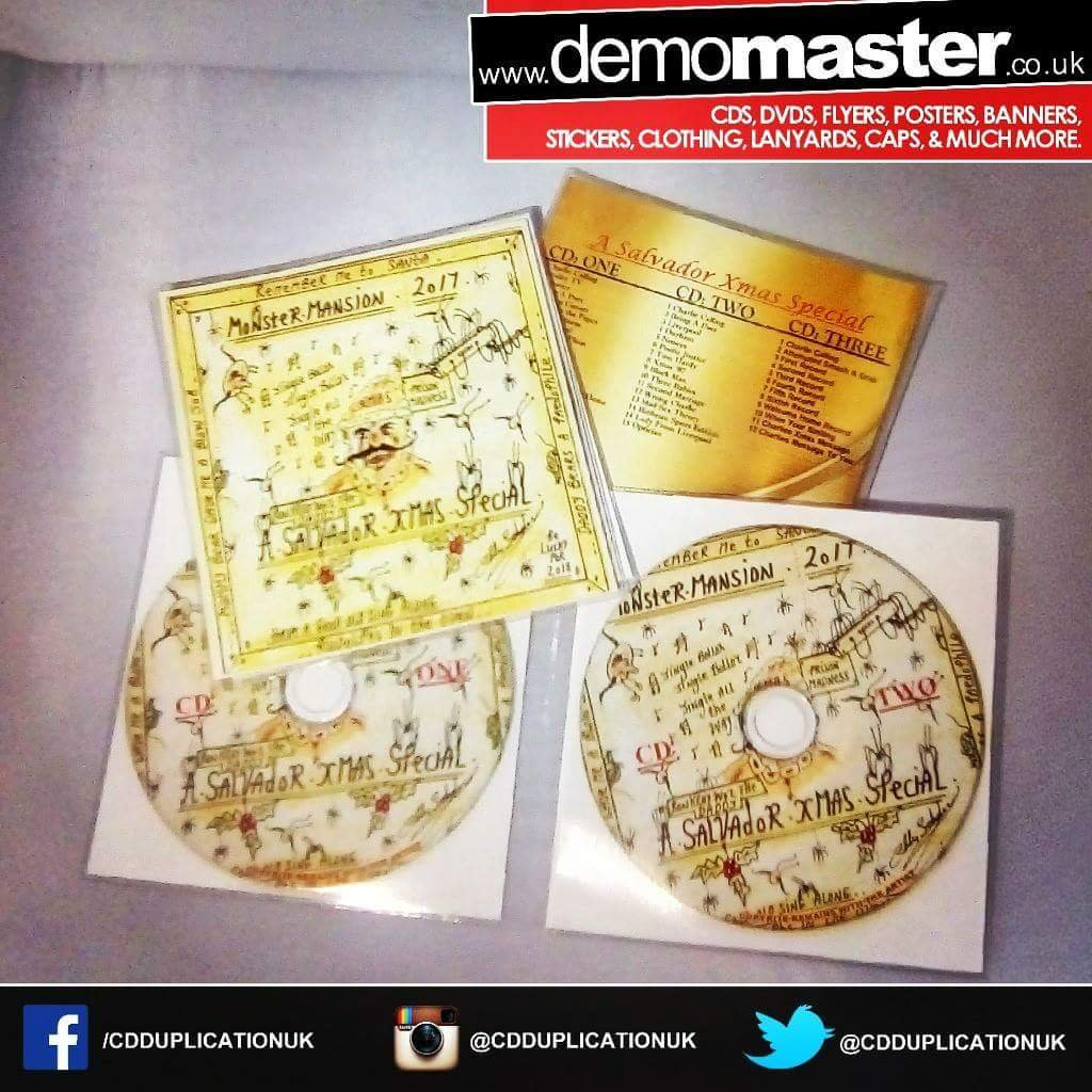 Bespoke packaging solutions for your CD Duplication