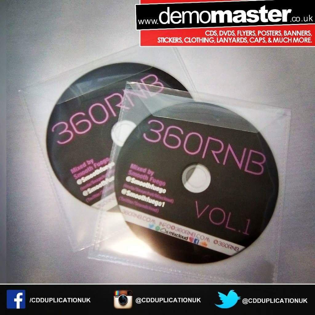 CD Duplication for promotional DJ use