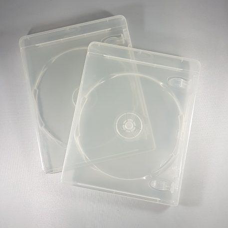 Amaray Clear Blu-Ray Case 14mm