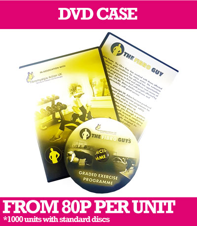 CD or DVD in 14mm spine DVD Cases with insert and delivery.