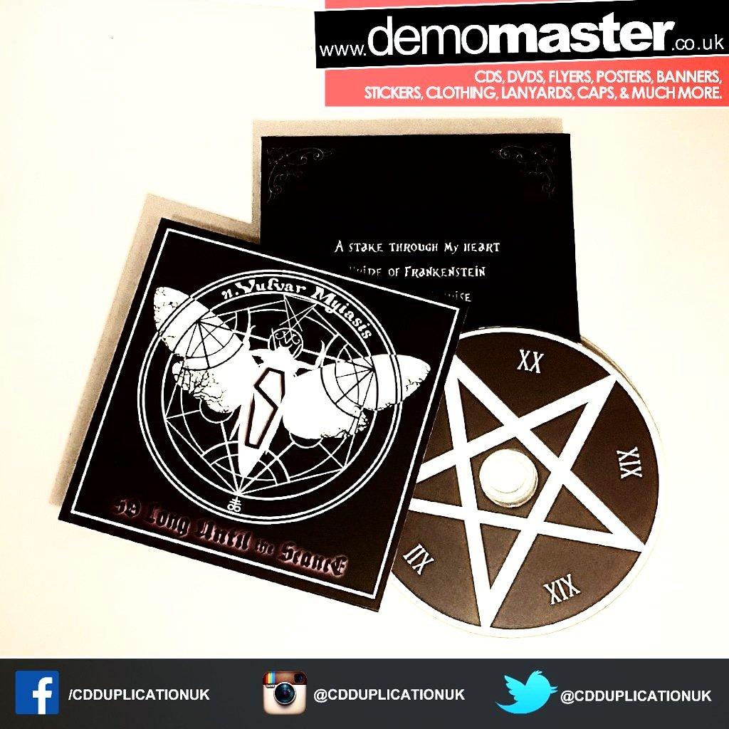 Custom printed card wallets for CD Printing