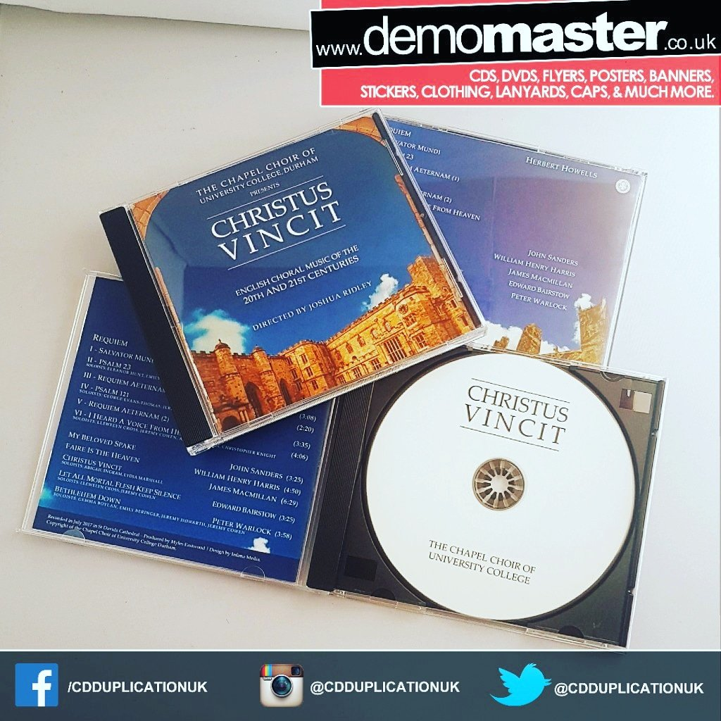 Music merchandise with CD Duplication in jewel cases