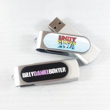 Custom printed USB