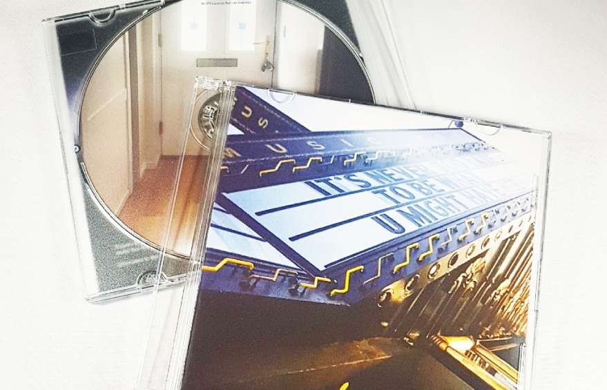 CD Duplication with slimline jewel cases