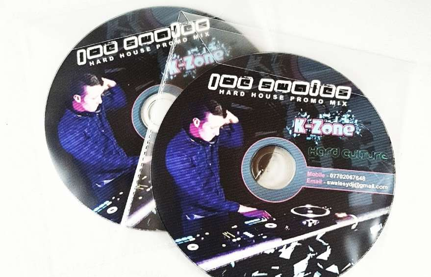 Hard house promo Dj Mix CD Printing
