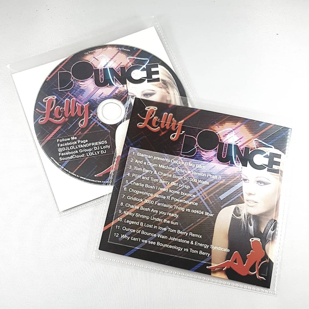 CD Duplication Printing with printed inserts