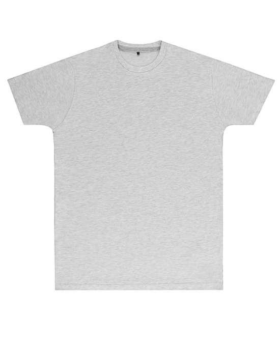 Premium Ash Gray Printed T Shirt