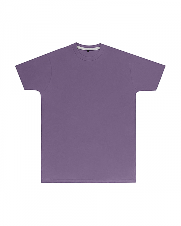 Premium Aster Purple Printed T Shirt