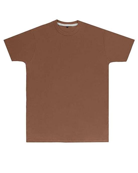 Premium Deep Taupe Printed T Shirt