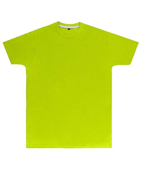 Premium Lime Printed T Shirt
