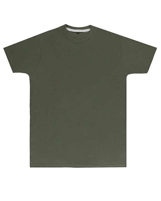 Premium Military Green Printed T Shirt