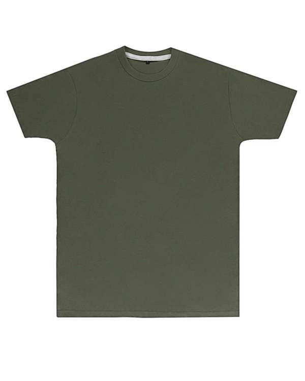 Premium Military Green Printed T Shirt