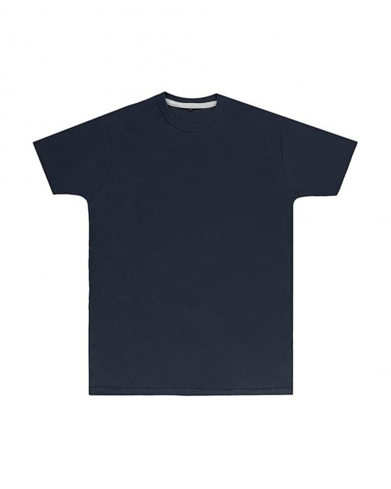 Premium Navy Printed T Shirt