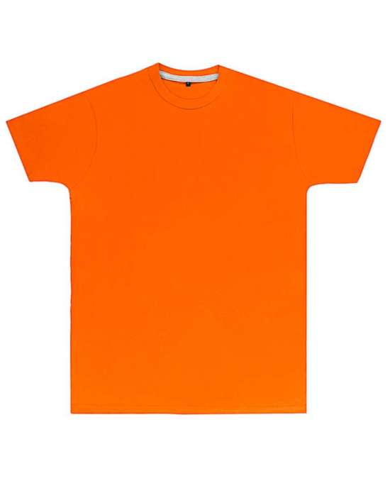 Premium Orange Printed T Shirt