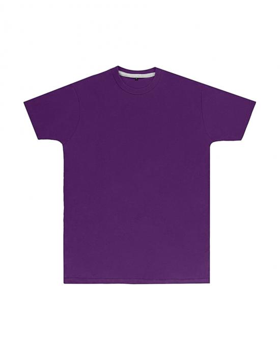 Premium Purple Printed T Shirt