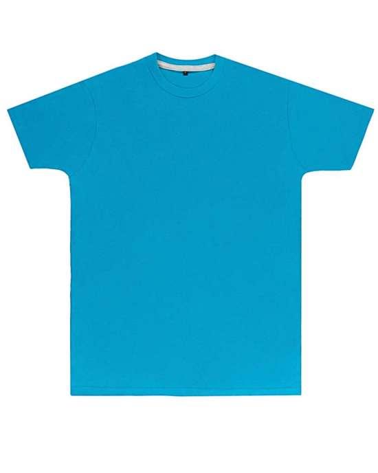 Premium Turquoise Printed T Shirt