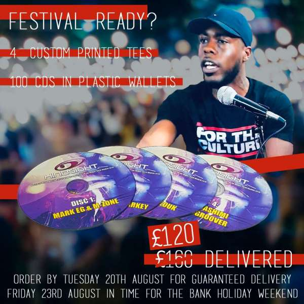 Festival CD T Shirt Printing Deal