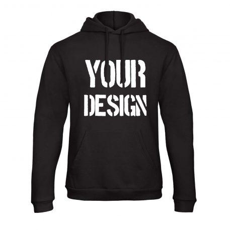 Custom Hoodie Printing Full Front