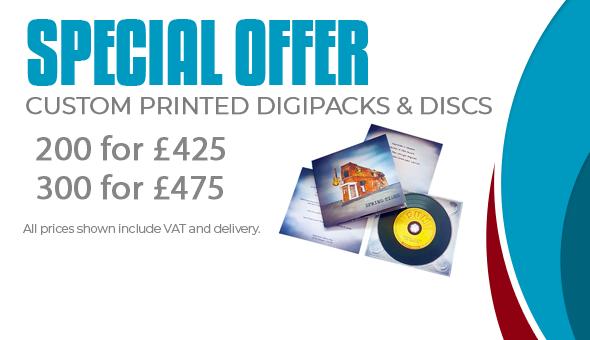 Special Offer Custom Printed Digipacks